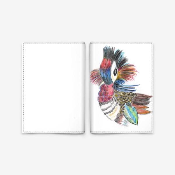 Обложка для паспорта «Утка мандаринка»