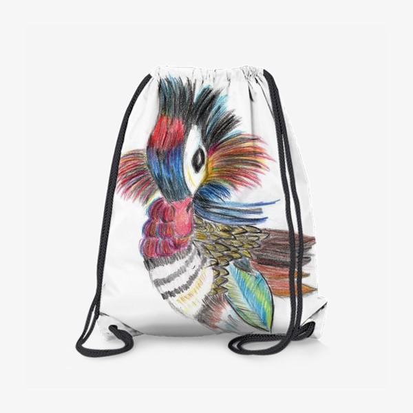 Рюкзак «Утка мандаринка»