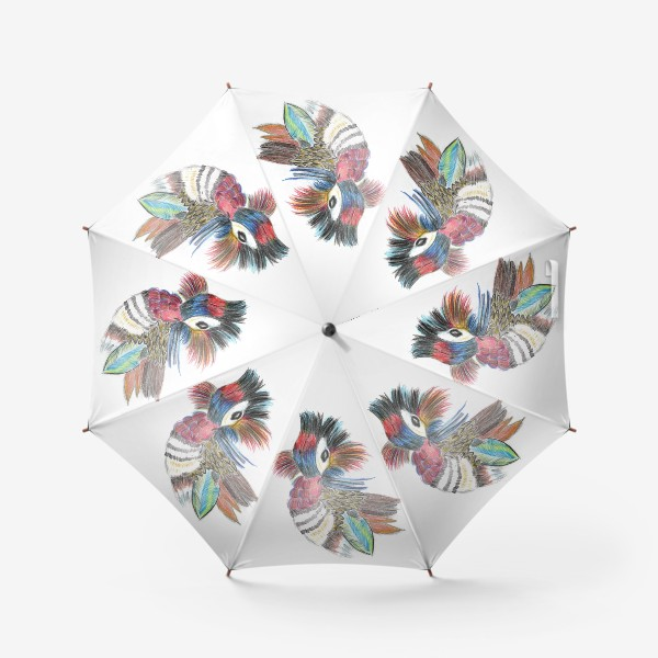 Зонт «Утка мандаринка»