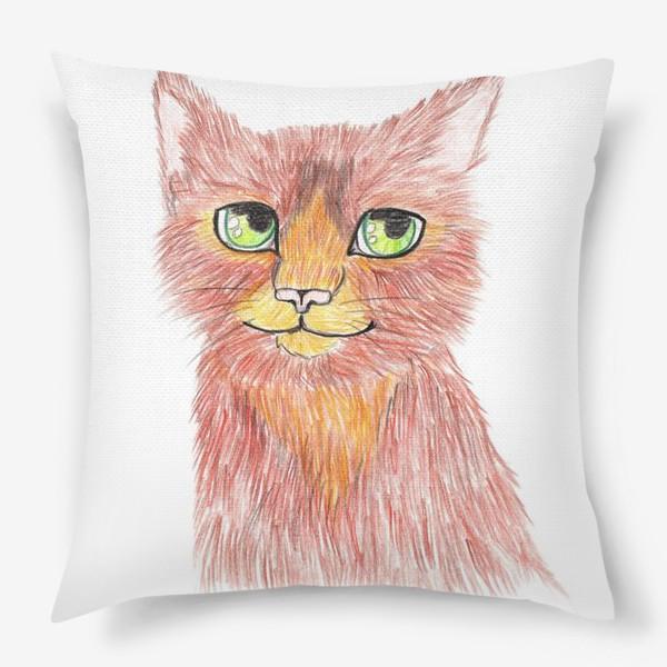 Подушка «Огненный кот»