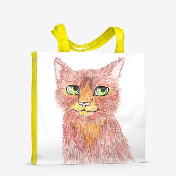 Сумка-шоппер «Огненный кот»