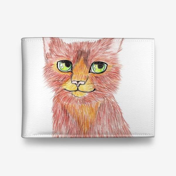 Кошелек «Огненный кот»