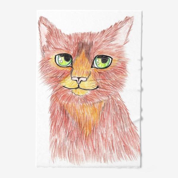Полотенце «Огненный кот»