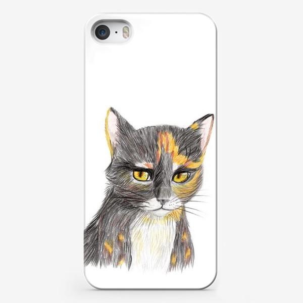 Чехол iPhone «Янтарный взор»