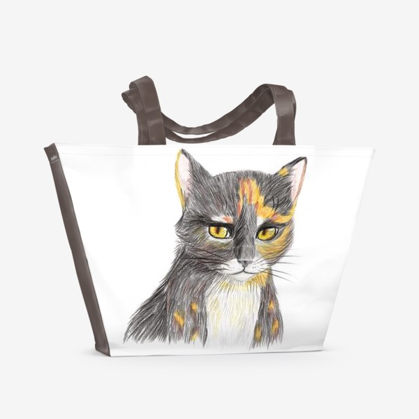 Пляжная сумка «Янтарный взор»