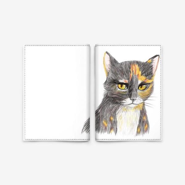 Обложка для паспорта «Янтарный взор»