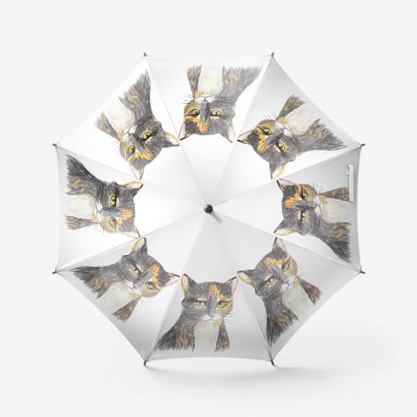 Зонт «Янтарный взор»
