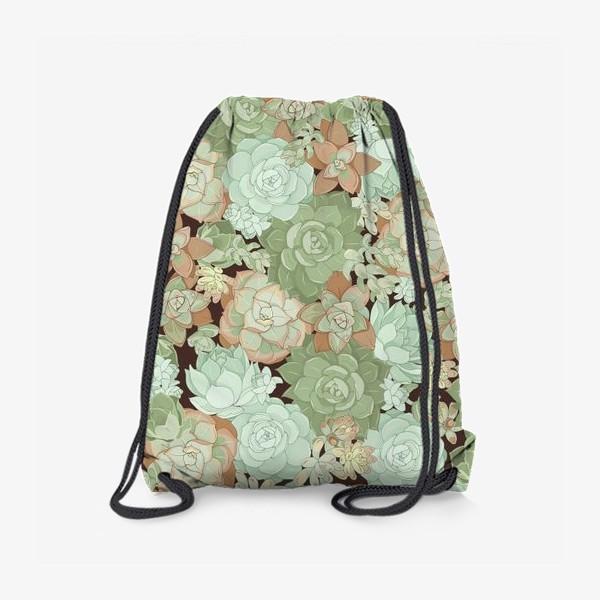 Рюкзак «суккуленты»