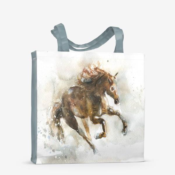 Сумка-шоппер «Конь»