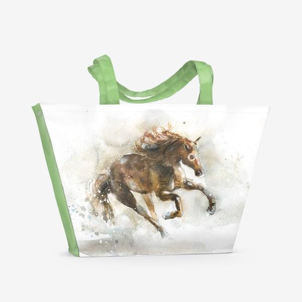 Пляжная сумка «Конь»