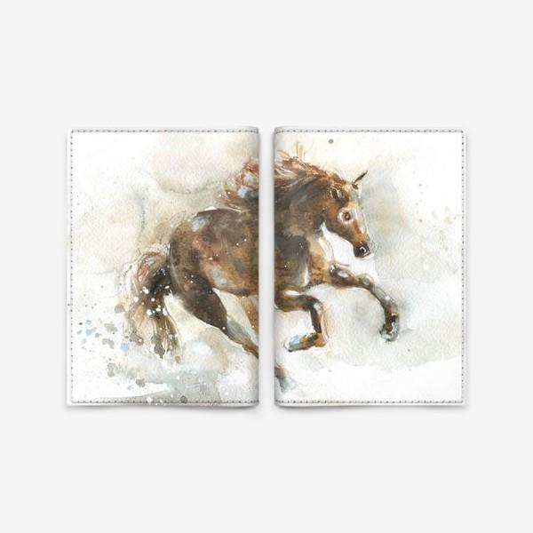 Обложка для паспорта «Конь»