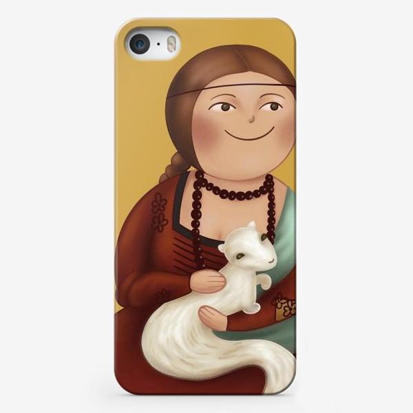 Чехол iPhone «Дама с горностаем»