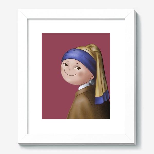Картина «Девушка с жемчужной сережкой»