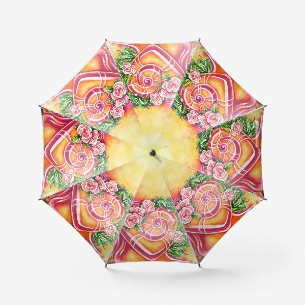 Зонт «Улитка на день святого Валентина»