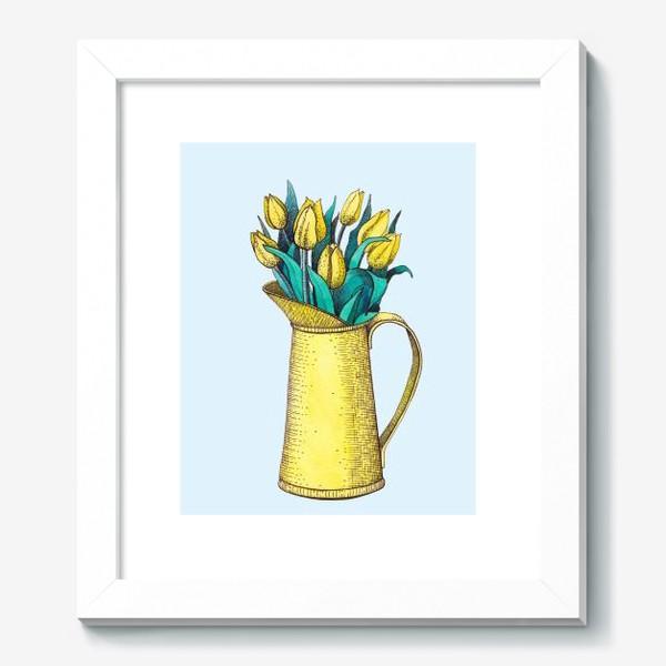 Картина «Букет тюльпанов»