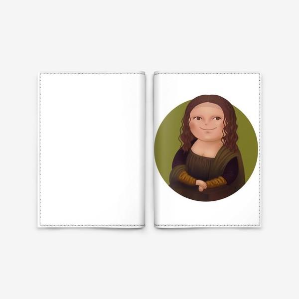 Обложка для паспорта «Джоконда»