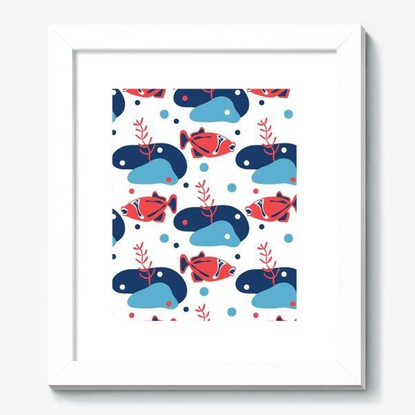 Картина «Подводный мир, Рыбы,»