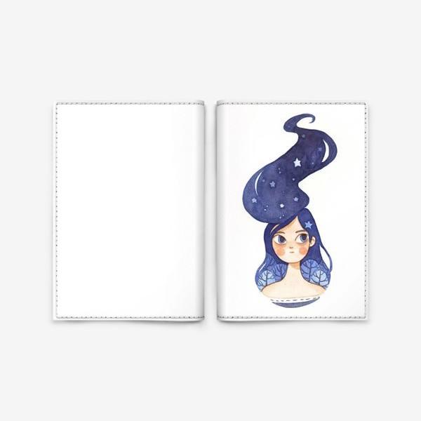 Обложка для паспорта «Ночь»