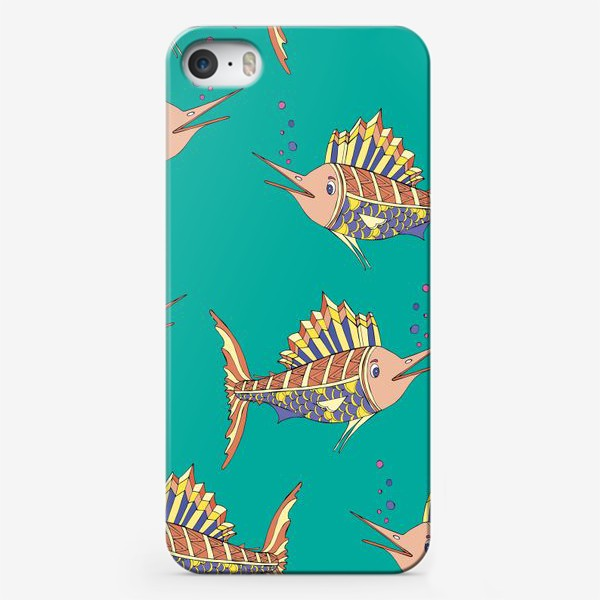 Чехол iPhone «рыбки в море»