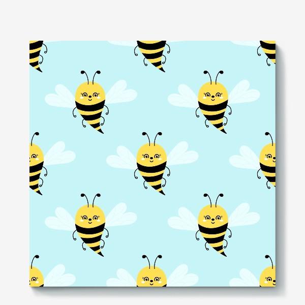 Холст «Прелестные пчелки»