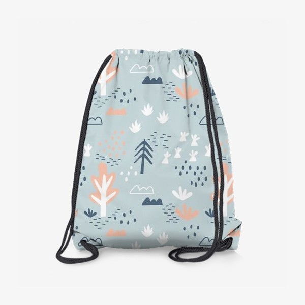 Рюкзак «Мультяшный лес в Скандинавском стиле»