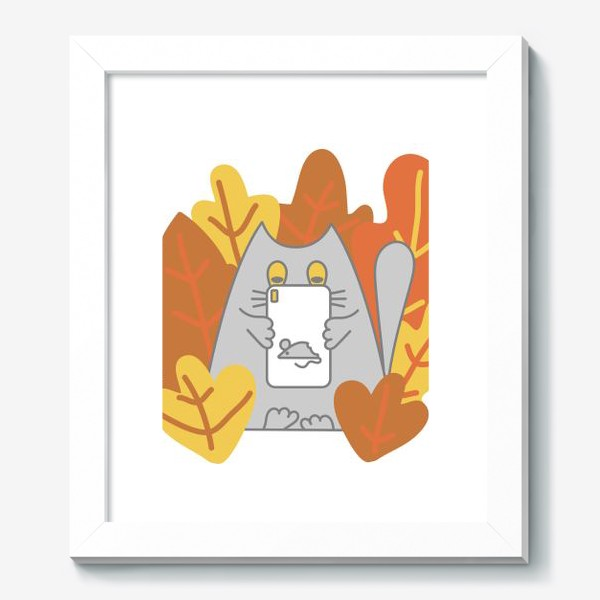 Картина «Кот блоггер»