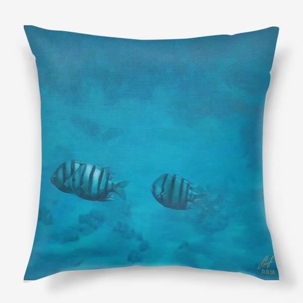 Подушка «Красное Море.»