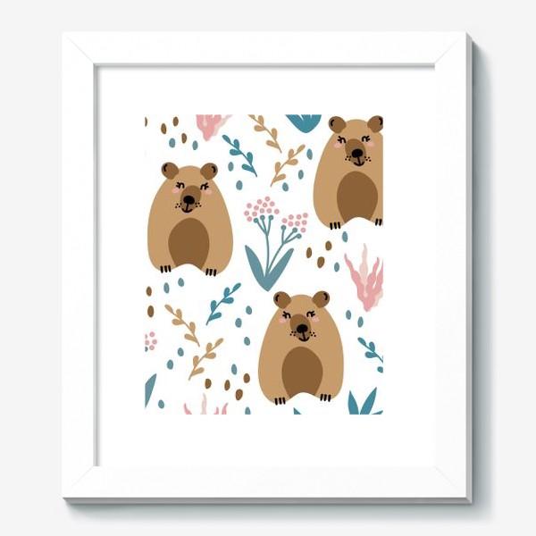 Картина «Милые мишки»