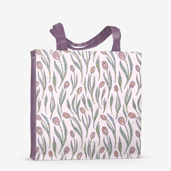 Сумка-шоппер «Тюльпаны»