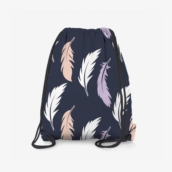 Рюкзак «Цветные перья »
