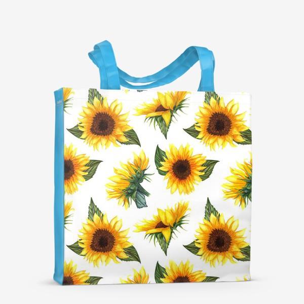 Сумка-шоппер «Солнечные цветы»