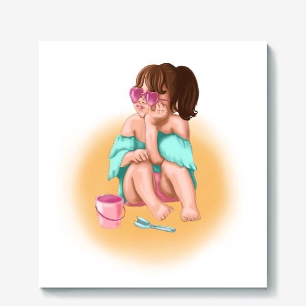 Холст «Маленькая девочка »