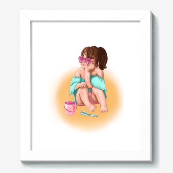 Картина «Маленькая девочка »