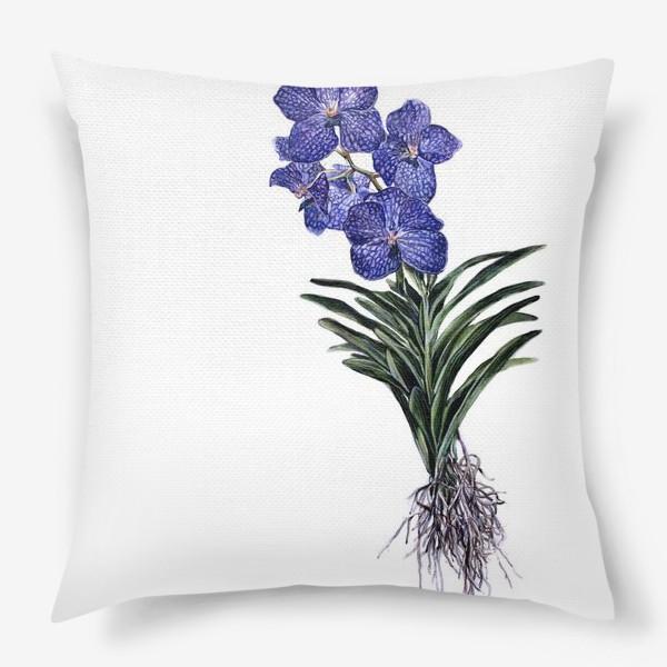 Подушка «Орхидея Ванда»