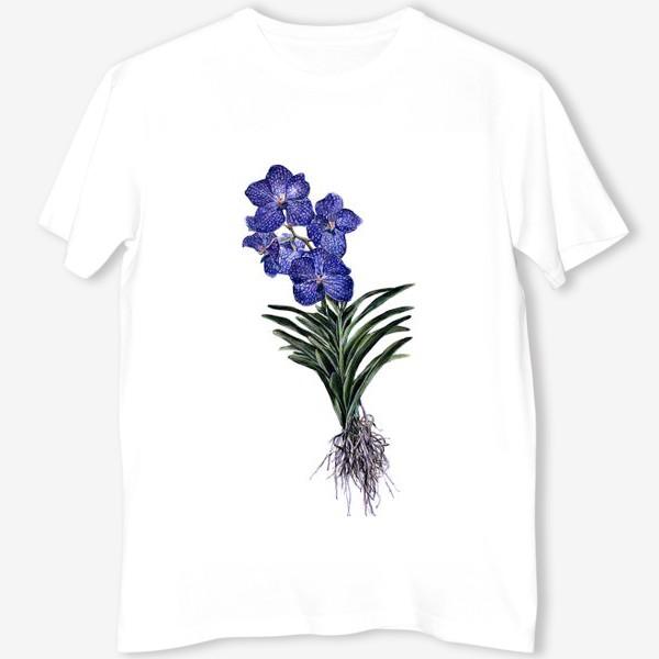 Футболка «Орхидея Ванда»