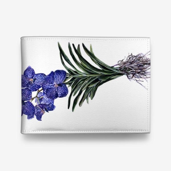 Кошелек «Орхидея Ванда»