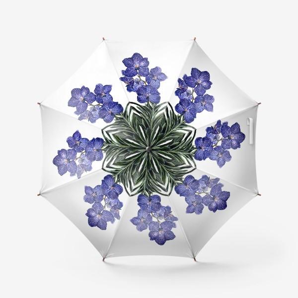Зонт «Орхидея Ванда»