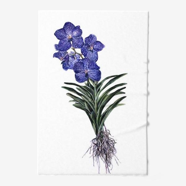 Полотенце «Орхидея Ванда»