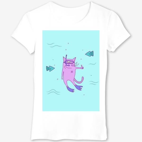 Футболка «Кот Рыба»