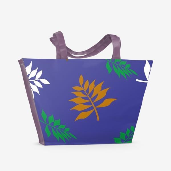 Пляжная сумка «Autumn leaves »