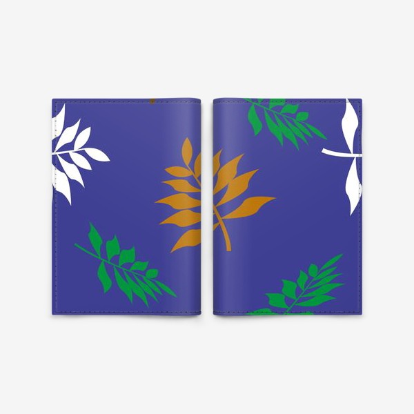 Обложка для паспорта «Autumn leaves »