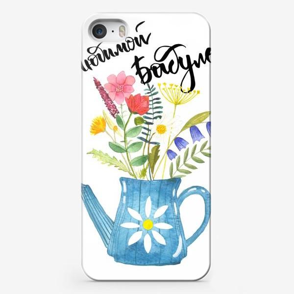 Чехол iPhone «Любимой бабуле»