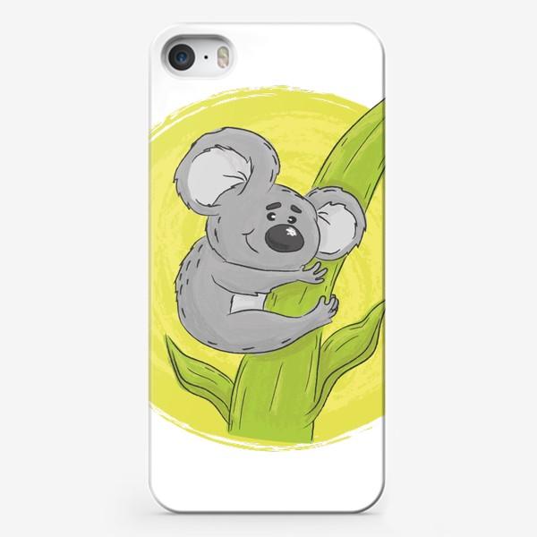 Чехол iPhone «Коала обнимает эвкалипт»