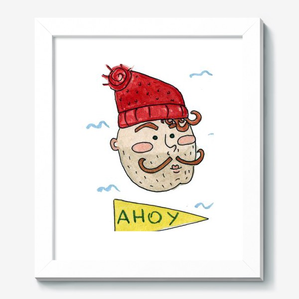 Картина «Моряк в шапке»