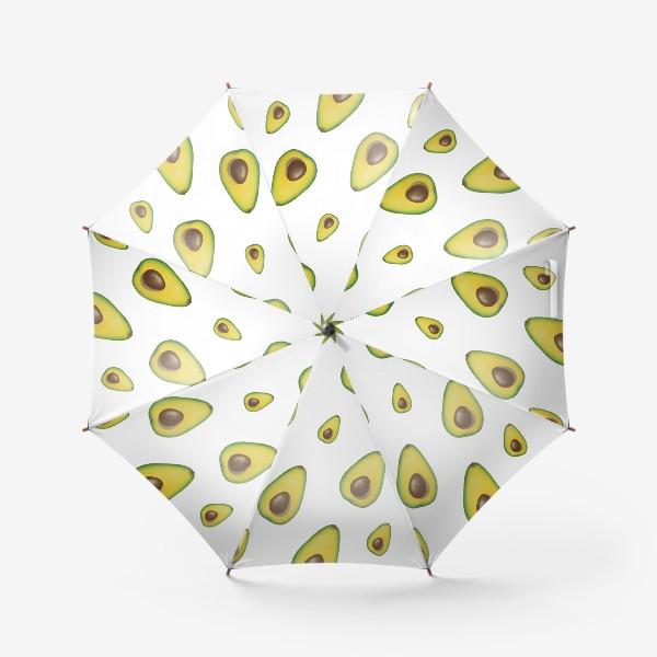Зонт «авокадо»