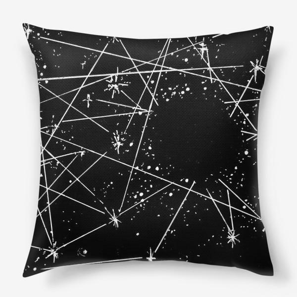 Подушка «Чёрная дыра»