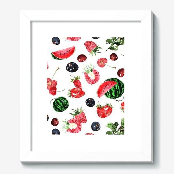Картина «Ягодный летний микс»
