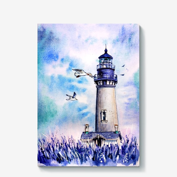 Холст «Вечерний маяк»