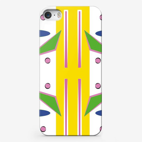 Чехол iPhone «Abstract design for your creativity»