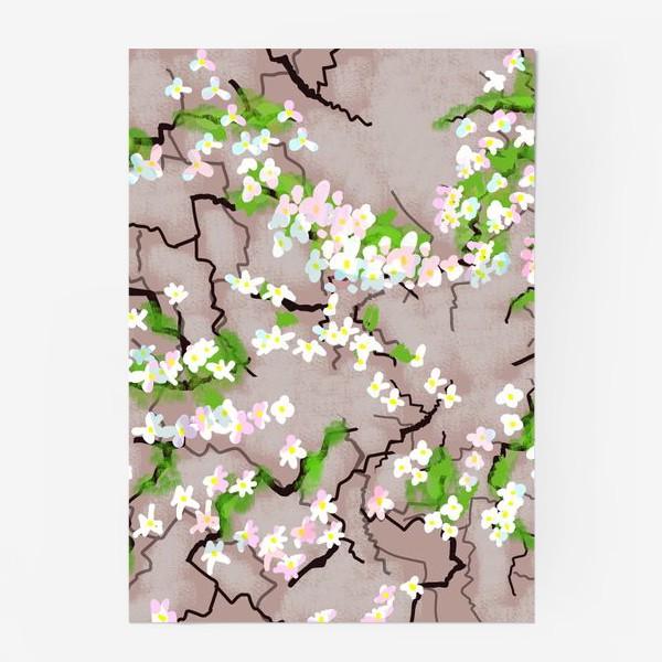 Постер «Цветы на земле»